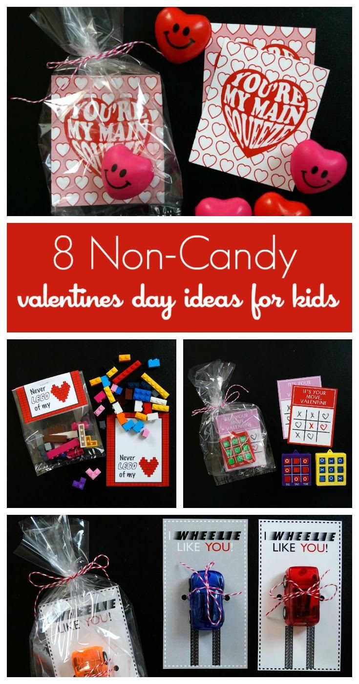 8 Non Candy Valentine's Day Ideas For Kids | Pokemon, Lego, ninja, car, crayon, non-candy Valentine's Day cards! For boys and girls alike! via @todaysmama