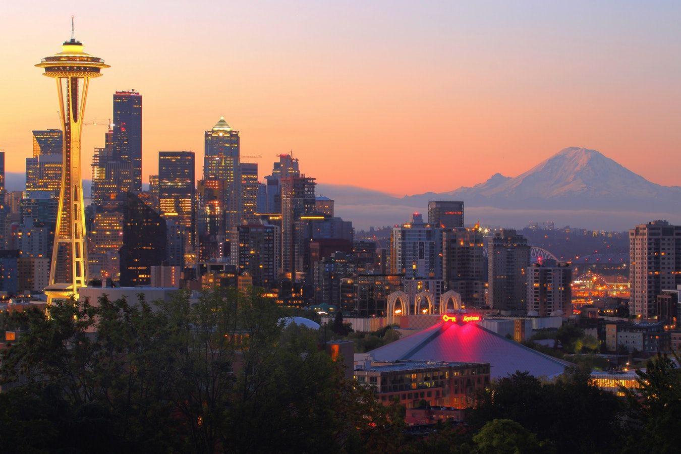 Good Morning Seattle Photo By Timothy Eberly Timothyeberly On