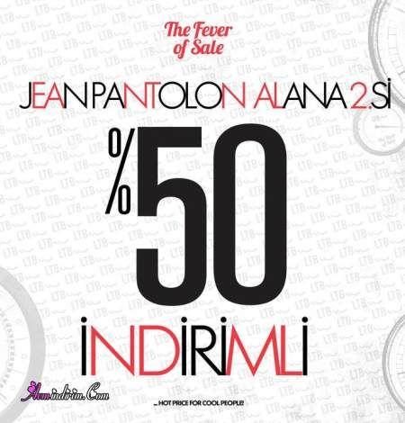 LTB'de Jean Pantolon Alana 2.si %50 İndirimli
