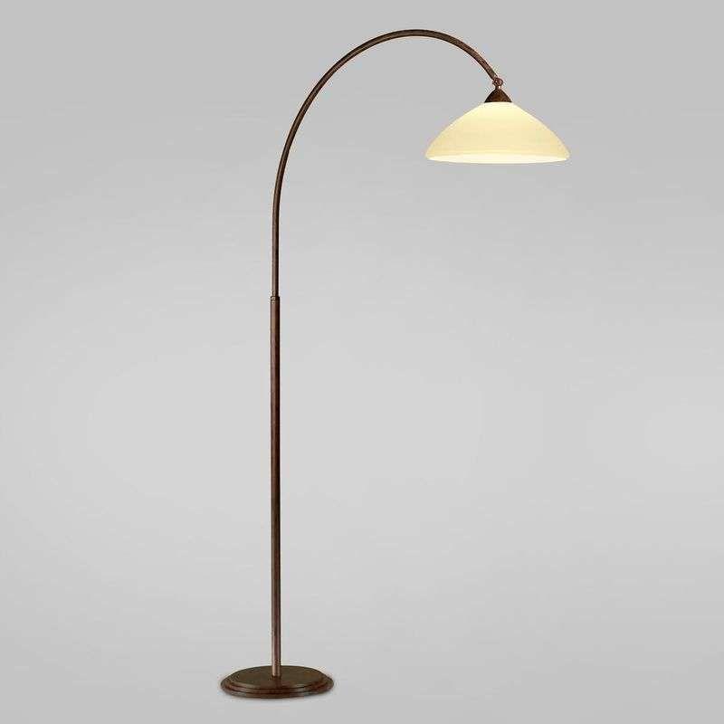 Booglamp Samuele Bereik 120cm Booglamp Lampen Vloerlamp