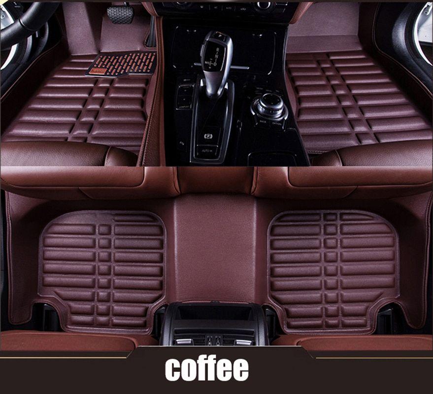 Kalaisike Custom Car Floor Mats For BMW 3 5 7 Series E46