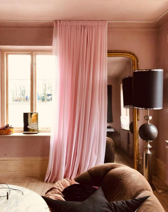 The Pink And Brown World Of Marie Olsson Nylander Sfgirlbybay In 2020 Brown Decor Pink Living Room Brown Rooms
