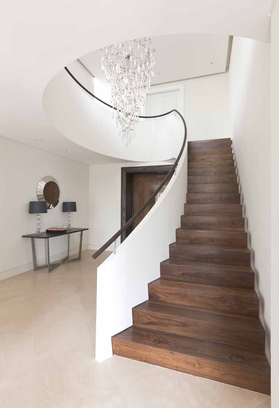 Contemporary Staircase Design Ideas Modern Living Room Interior   Stairs To Second Floor Design   Bathroom Next   Space Saving   Square Shaped   Kitchen   Stairway