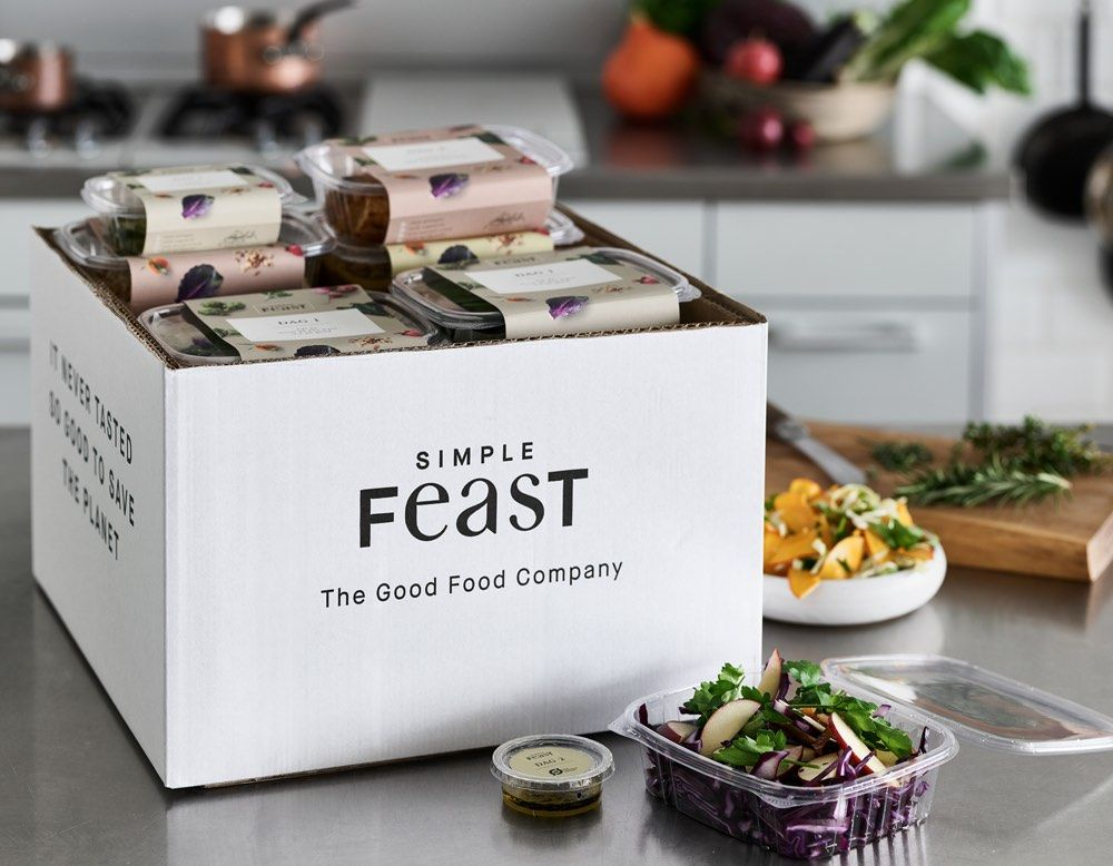 Denmark S Simple Feast Grabs 12m For Plant Based Meal Delivery In 2020 Plant Based Meal Delivery Meal Delivery Packaging Food Delivery