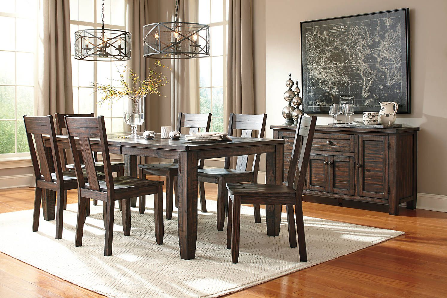 Trudell Rect Dining Room Ext Table Corporate Website Of Ashley