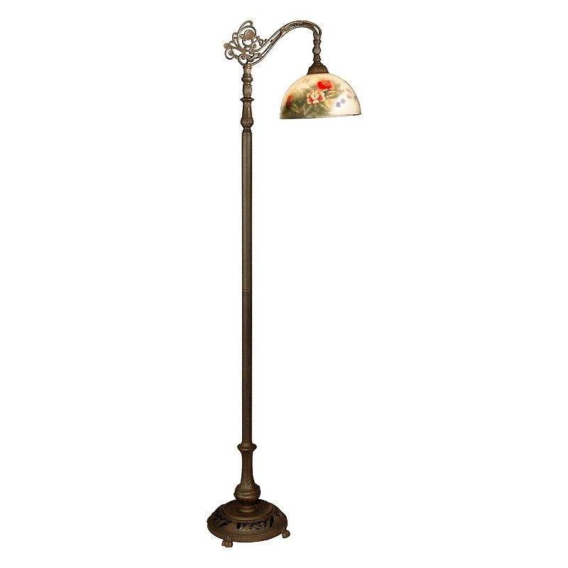 Dale Tiffany Rose Dome Downbridge Floor Lamp Antique Floor Lamps Floor Lamp Floor Lamp Shades