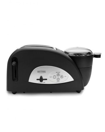 Back to Basics Toaster and Egg Poacher  This 3-in-1 combo can churn out all the makings for a good breakfast sandwich. This gadget will toast bread, fry an egg, and heat bacon or sausage in a snap.     $34, amazon.com