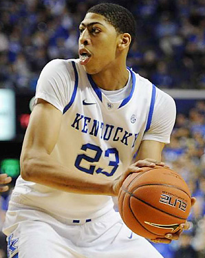 Awesome Anthony Davis Kentucky Basketball University Of
