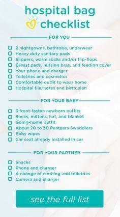 hospital bag checklist what to pack hospital bag checklist