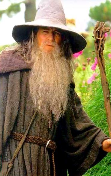 Gandalf The Greylooks Pretty Young Here Yüzüklerin
