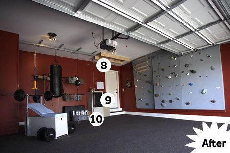 how to turn your garage into a gymgarage gym turn in