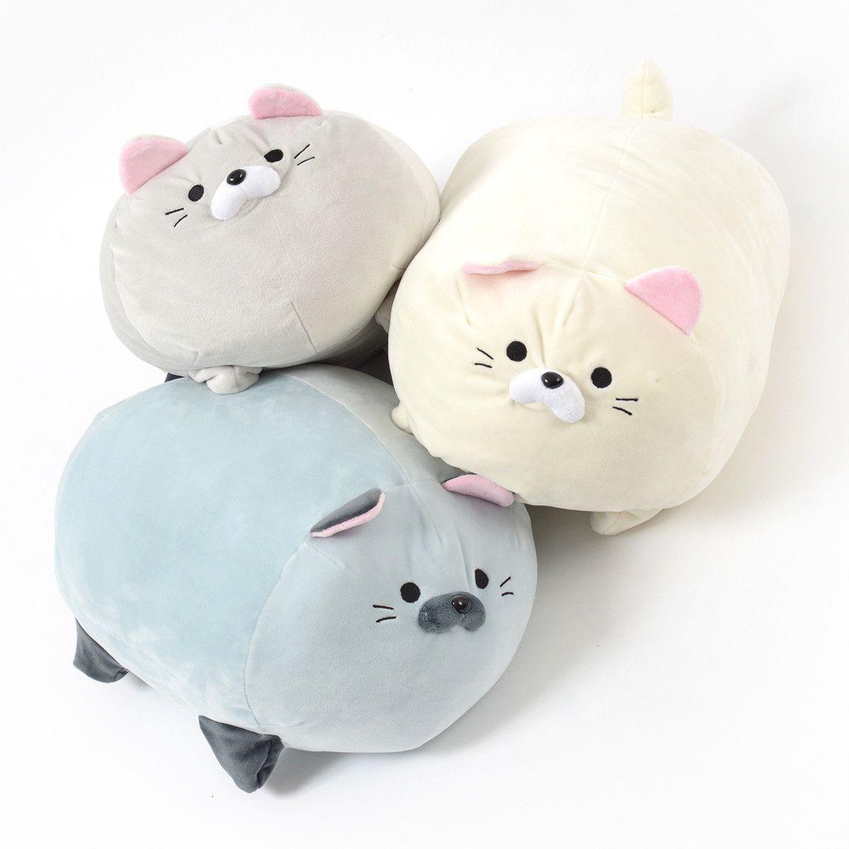 Stuffed Animals Round Cats
