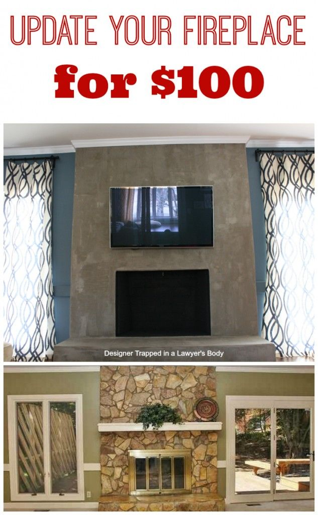Diy concrete fireplace for less than 100 do it yourself today diy concrete fireplace tutorial learn how to create your own diy fireplace with ardex feather finish by designer trapped in a lawyers b solutioingenieria Gallery