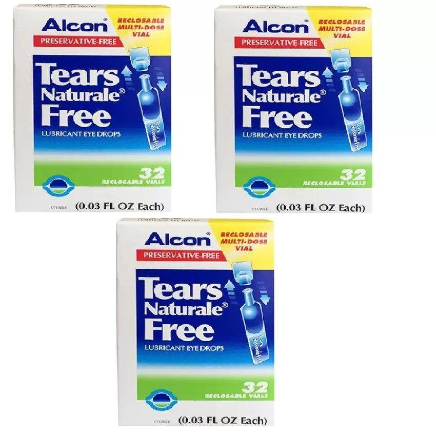 Alcon Eye Drops น้ำตาเทียม Tears Naturale Free Lubricant Eye Drops 0.3 ml. x 3กล่อง<BR><BR><BR>shop-eye-drops<BR><BR>http://www.9mserv.com/detail.php?pid=883960&cat=shop-eye-drops