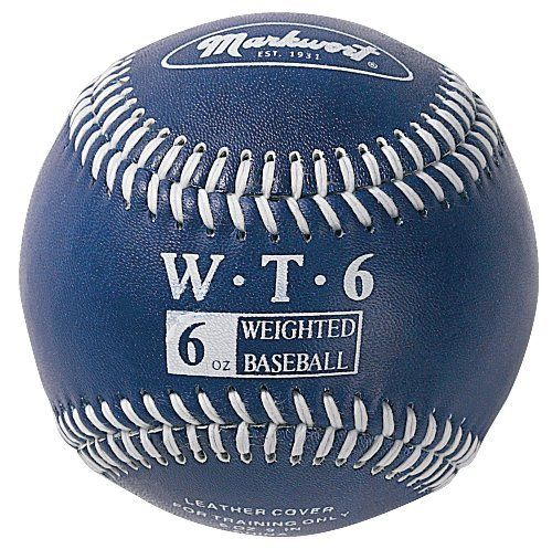 Markwort Weighted 9 Inch Baseballs Leather Cover Individually Boxed Navy By Markwort 11 10 As You T Baseball Strength Training Baseball Hitting Baseballs