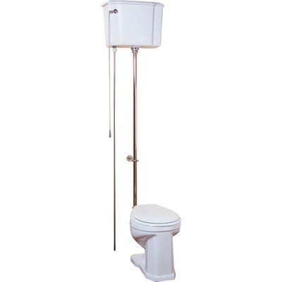 Barclay Victoria High Tank Toilet 1 6 Gpf Round Wall Mounted