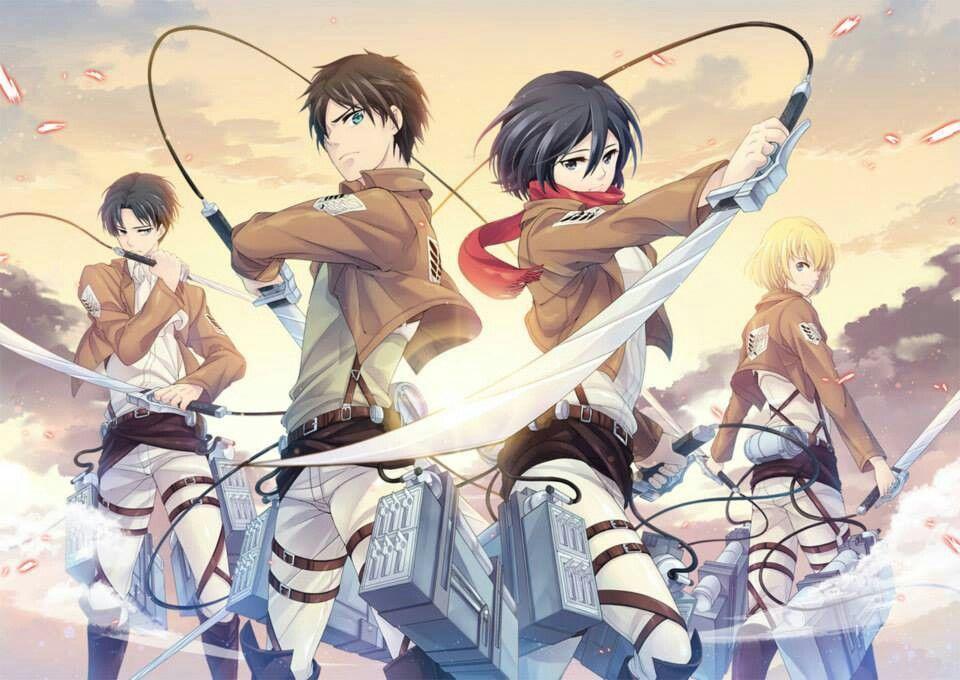 Mikasa Ackerman Fan Art Survey Corps Attack On Titan Anime Attack On Titan Anime