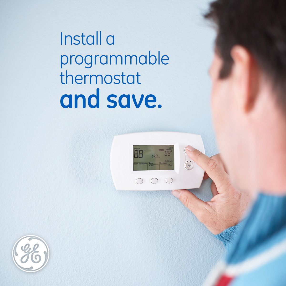 Install A Programmable Thermostat To Save An Estimated 10 On