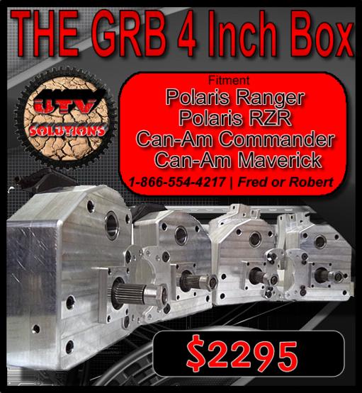 4 Inch Gear Lift Box Utv Portal Box For Rzr Xp 900 And