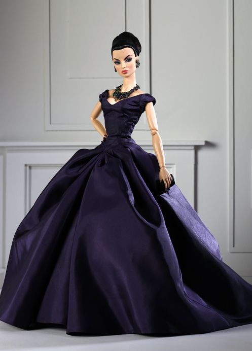 Jason Wu Doll designs - violet