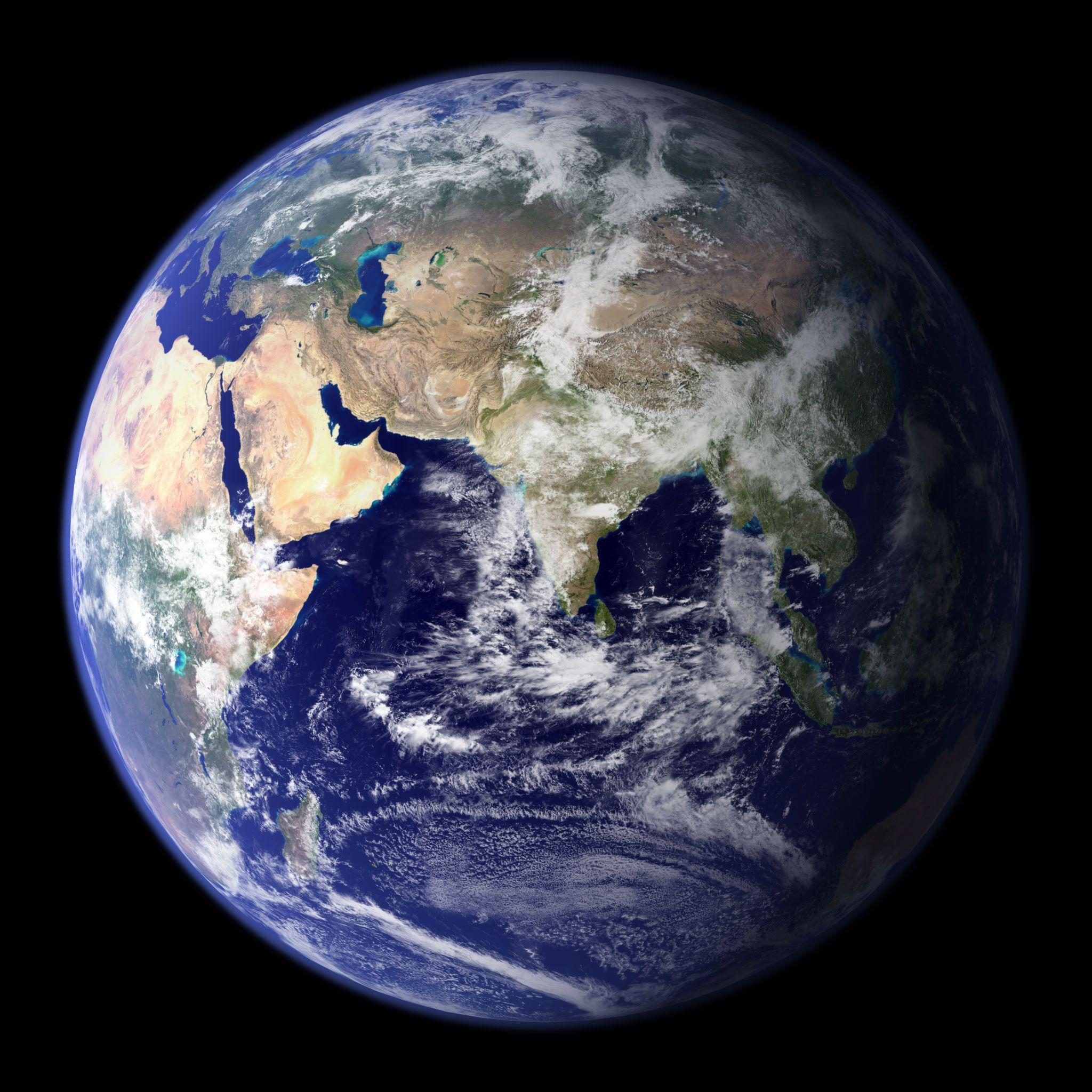 Earth High Resolution Wallpaper Nasa