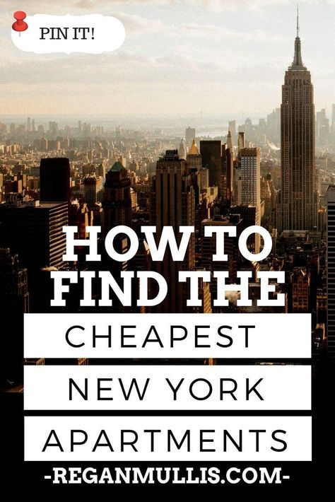 How to Find an Affordable Apartment in New York | New york ...