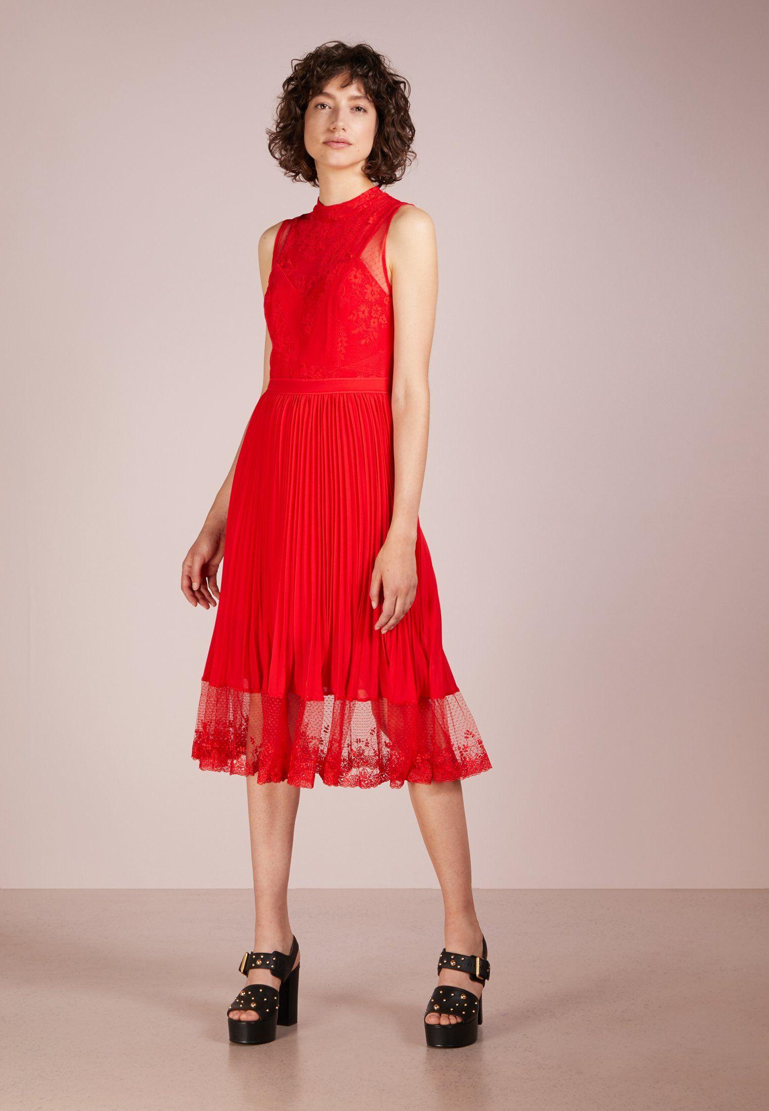 4e42c53d34e Three Floor CHERRY PIE DRESS - Robe de soirée - fiery red - ZALANDO.FR