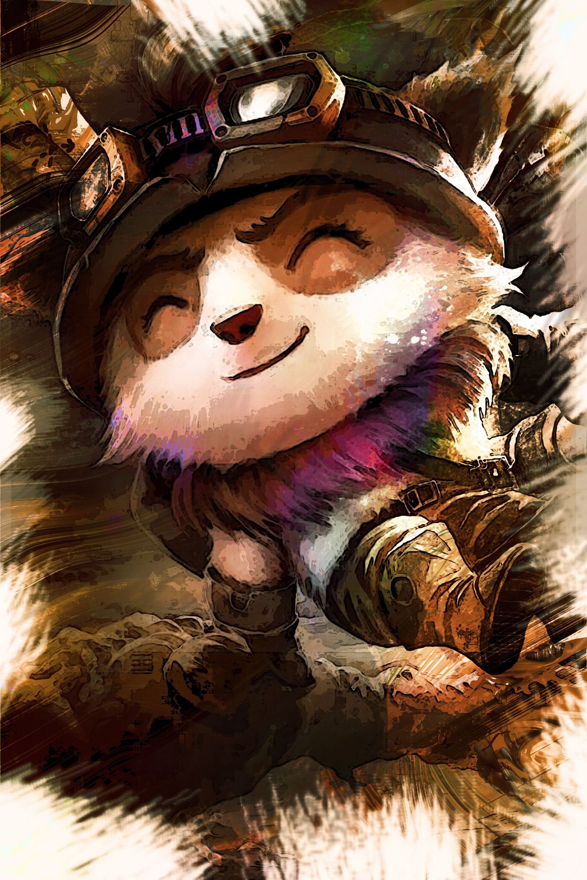 League of legends teemo characters gaming and assassin s creed greetings descriptioncustom artwork of the character from the extraordinary game kristyandbryce Gallery