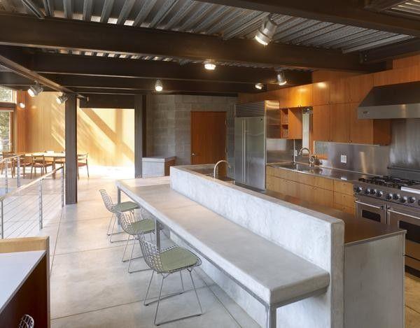 Little Thai Kitchen Darien Kitchen Modern With Bi Level Cabinets