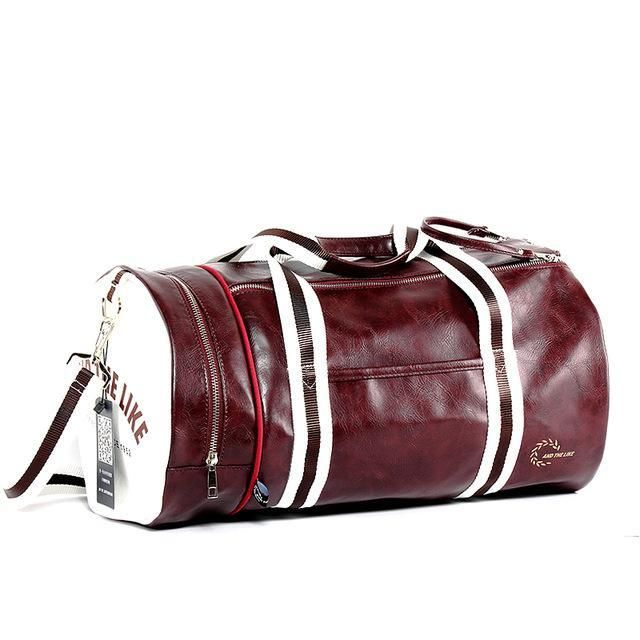 959fb76bfec0b5 Vintage Style Gym Bag | Retro Gym & Duffel Bags | Shoe storage ...