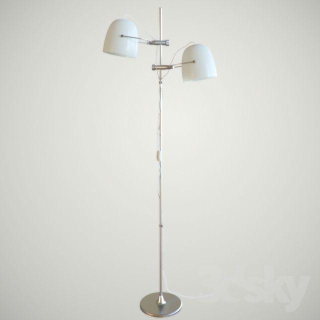 Ikea svirvel floor lamps