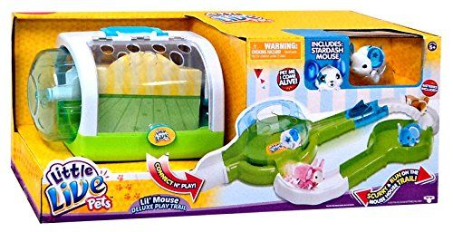 Little Live Pets Lil Mouse Deluxe Play Trail Playset Little Live Pets Christmas Gifts For Girls Interactive Toys