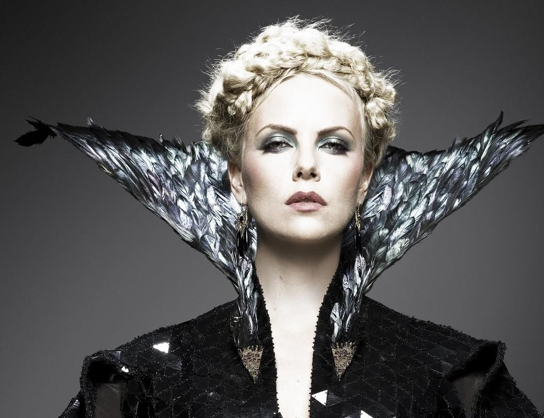 Queen Hairstyles: Evil Queen Ravenna Inspired Hairstyle Charlize Theron