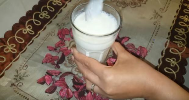 مشروب الحليب والخل لسد الشهية وانقاص الوزن Milk Drinks Glass Of Milk