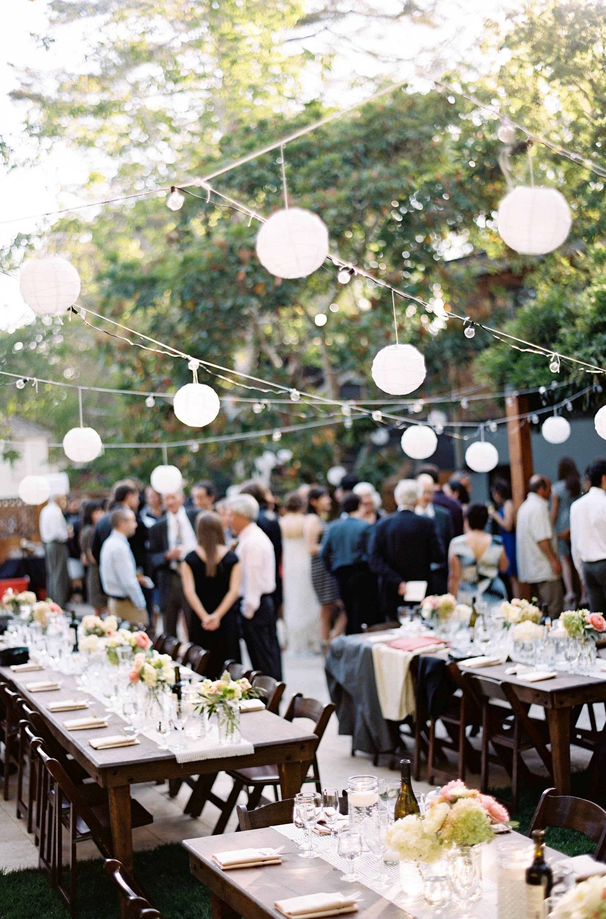 san francisco backyard garden wedding   california wedding, wedding