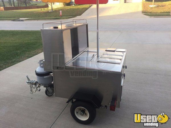 Chicago Style All American Hot Dog Vending Cart For In Missouri