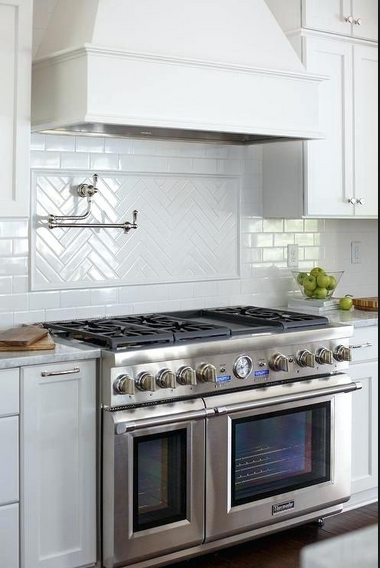 10 Elegant Tile Backsplash Behind The Stove Ideas Backsplash