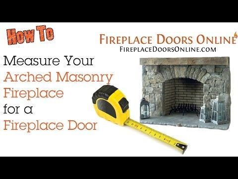 How To Videos Fireplace Doors Online Diy Center Pinterest