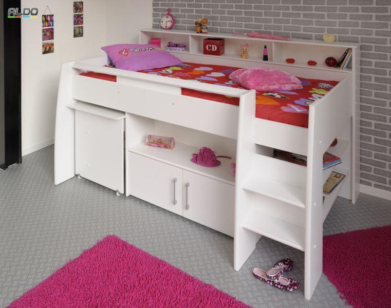 łóżko Dziecięce Swan Wielofunkcyjne 2159comb Kids Bedroom