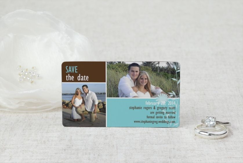 Field of Love - Save the Date Magnet by MagnetStreet