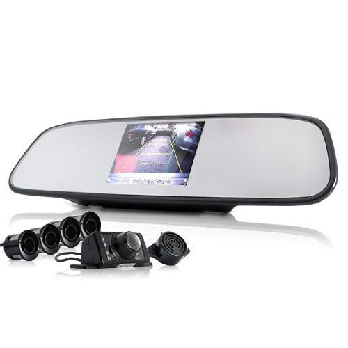 Complete Car Reversing Kit w/ Camera + Sensor