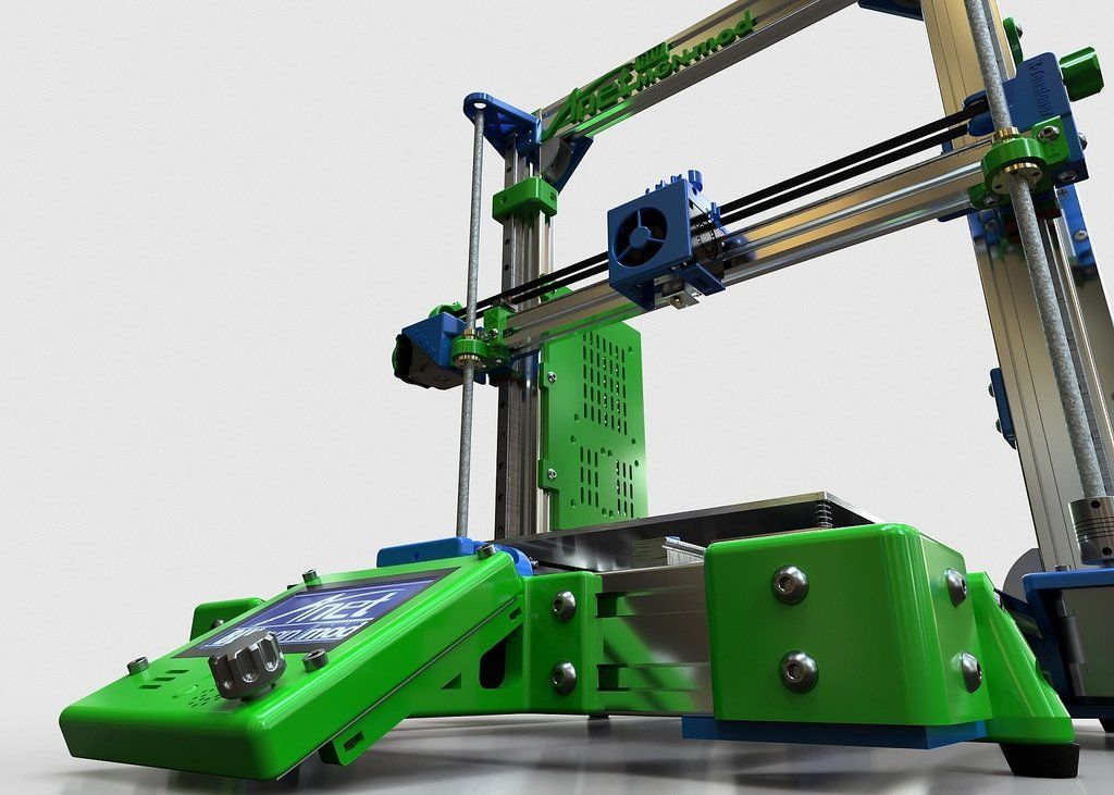 BLV mgn12 3D Printer mod for A8 / AM8 / Prusa I3