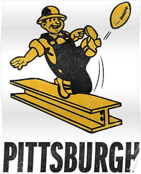 Old Steelers Logo Pittsburgh Steelers Logo Nfl Logo