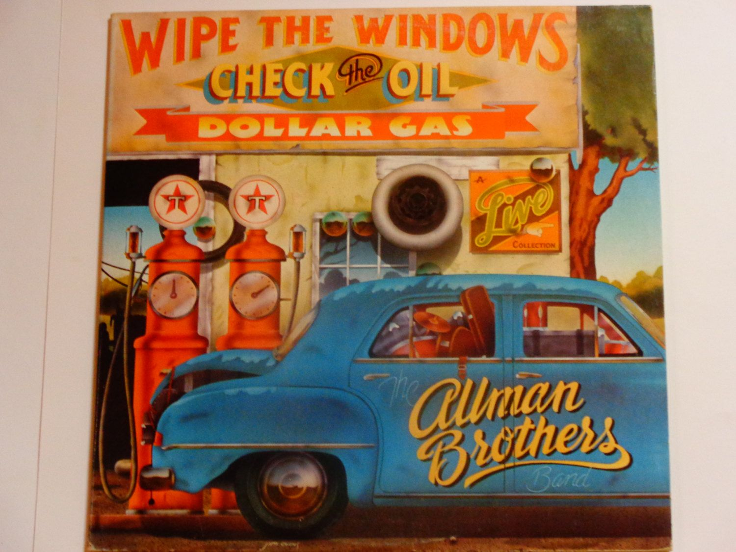 The Allman Brothers Band Wipe The Windows Check The Oil Live Double Album Blues Rock Capricorn Re Blues Rock Vintage Vinyl Records Allman Brothers Band