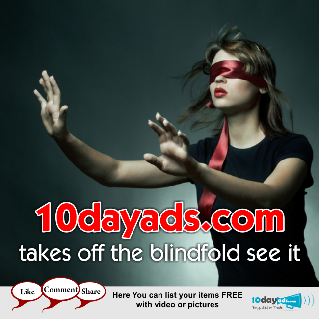 10dayads.com takes off the blindfold see it. ‪#‎PostFreeClassifiedAds‬ ‪#‎FreeClassifiedsSites‬ ‪#‎ClassifiedAds‬