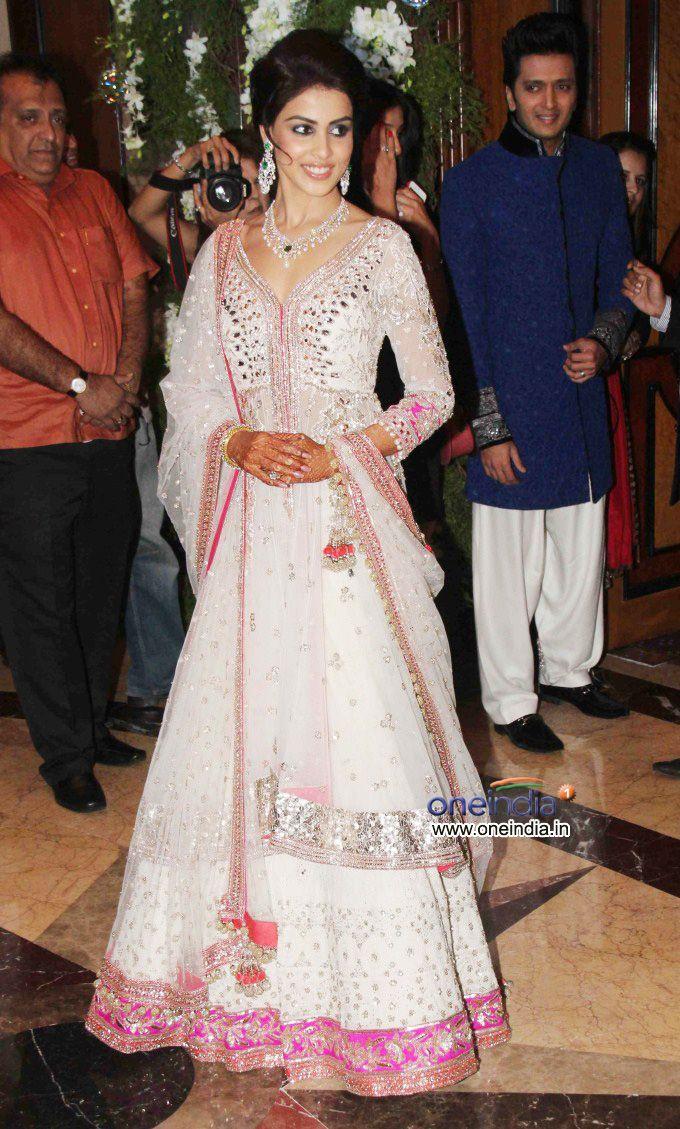 Actor Genelia Dsouza At Her Pre We Fashion India Pakistan