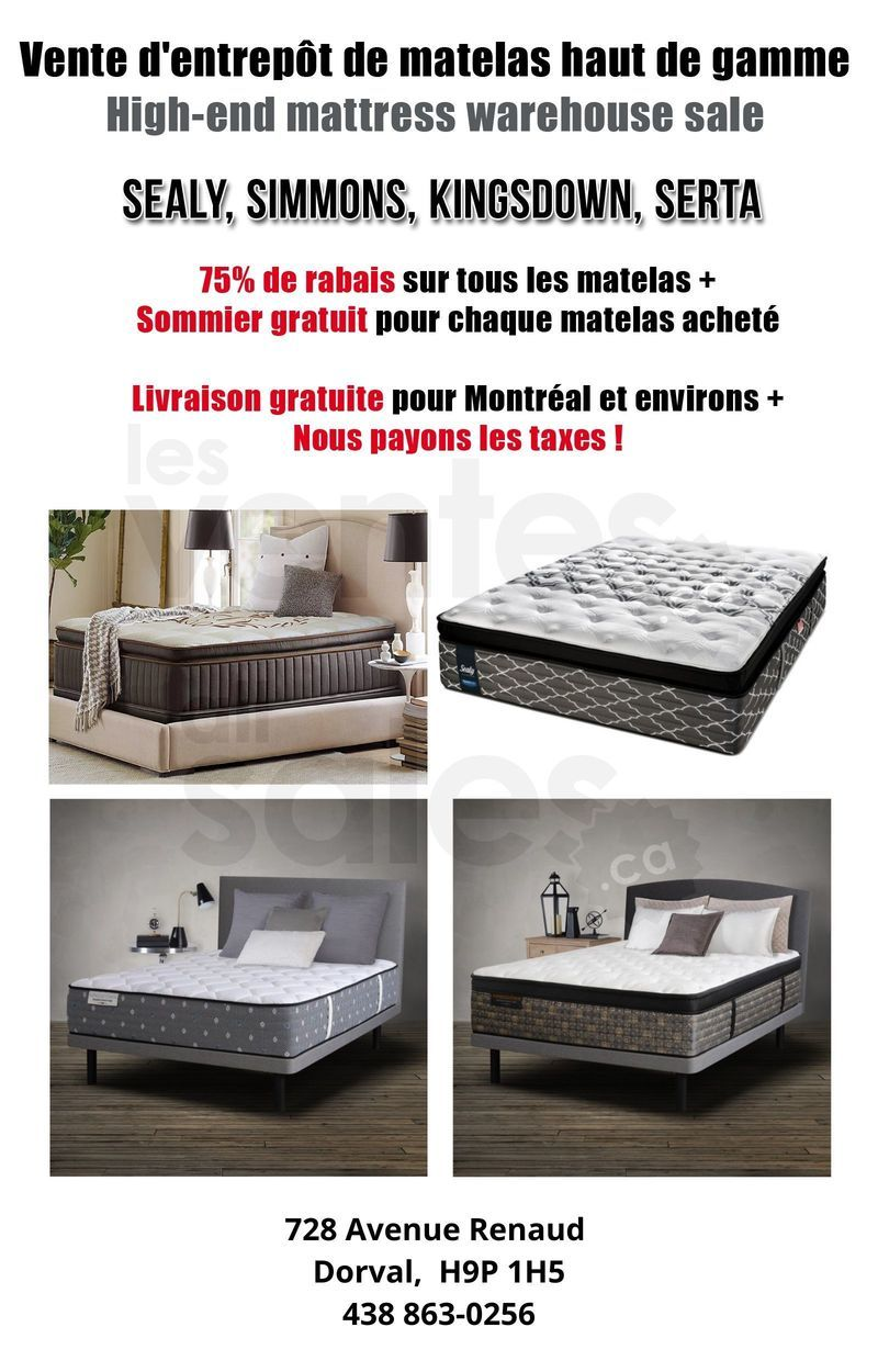 Matelas Lits Electriques Rabais 75 In 2020 Home Decor Home Bed