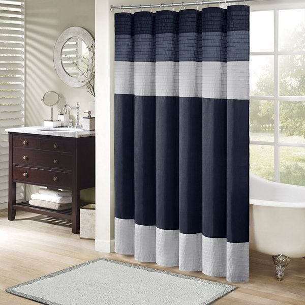 Madison Park Amador Faux Silk Shower Curtain Jcpenney Dump Ii