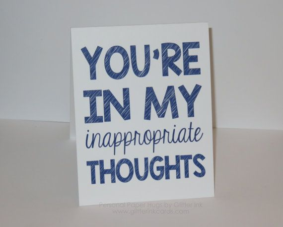 Funny I Miss You Card You Are In My Thoughts Funny Thinking Of