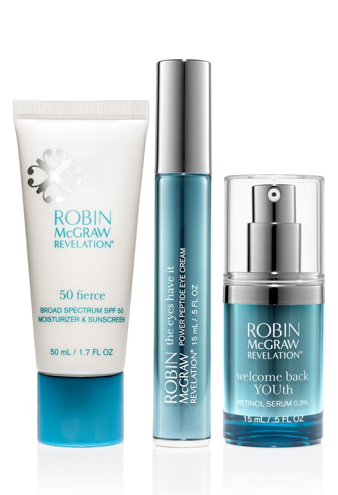 Fun Amp Flawless Trio Robin Mcgraw Revelation Sunscreen Moisturizer Effective Skin Care Products Top Rated Skin Care Products